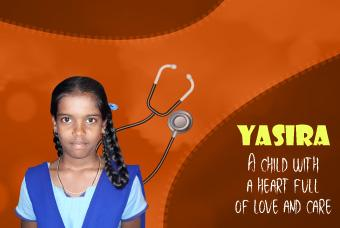 Yasira, our would-be doctor!