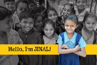 Jinal, a teacher in the making