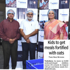Akshaya Patra to provide meals fortified with oats
